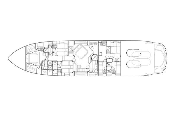 Manufacturer Provided Image: Lower Deck Layout