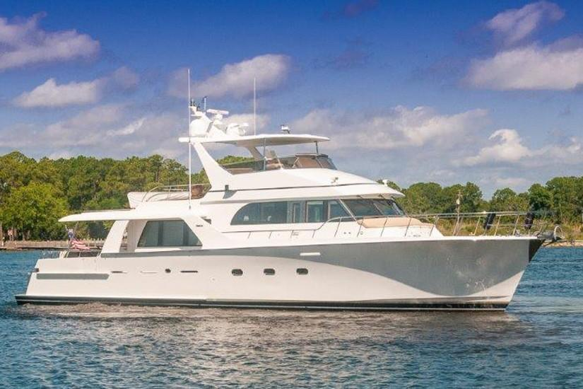 2002 Cheoy Lee 72 Pilothouse - Profile