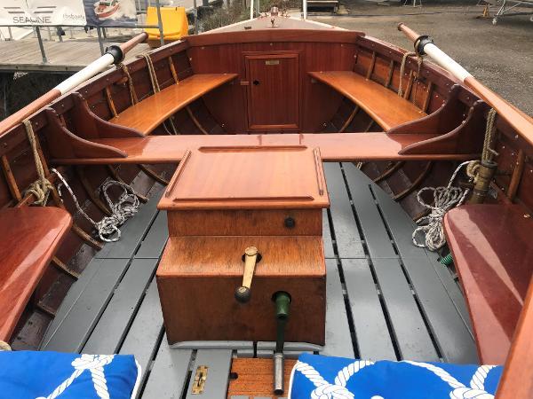 1991 Open Wooden Boat