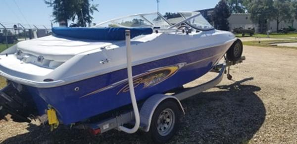 2005 Baja boat for sale, model of the boat is 192 Islander & Image # 1 of 5