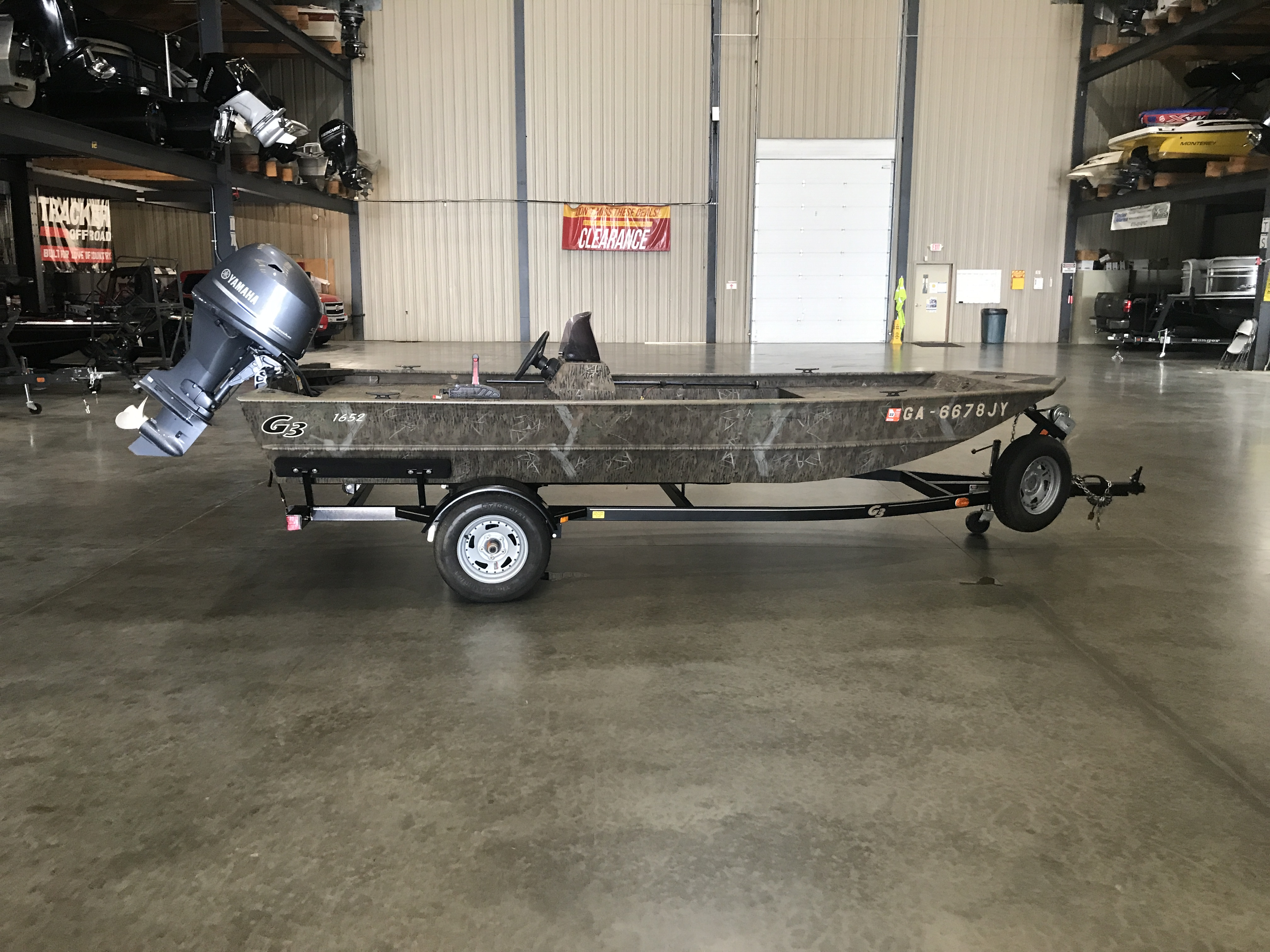 2013 G3 Boats boat for sale, model of the boat is 1652 SC & Image # 1 of 4