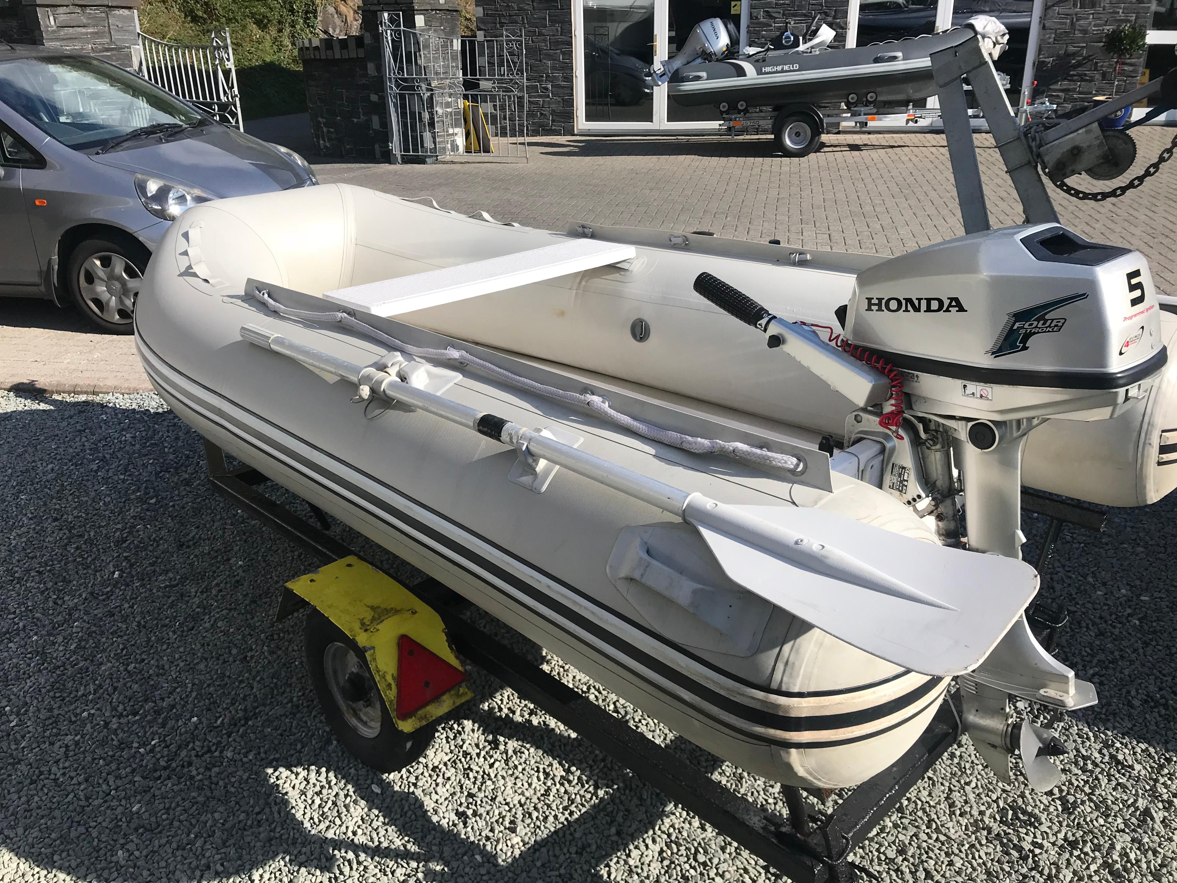 Honda Dealership Ma >> RIB 265 For Sale   Porthmadog - Madog Boat Sales