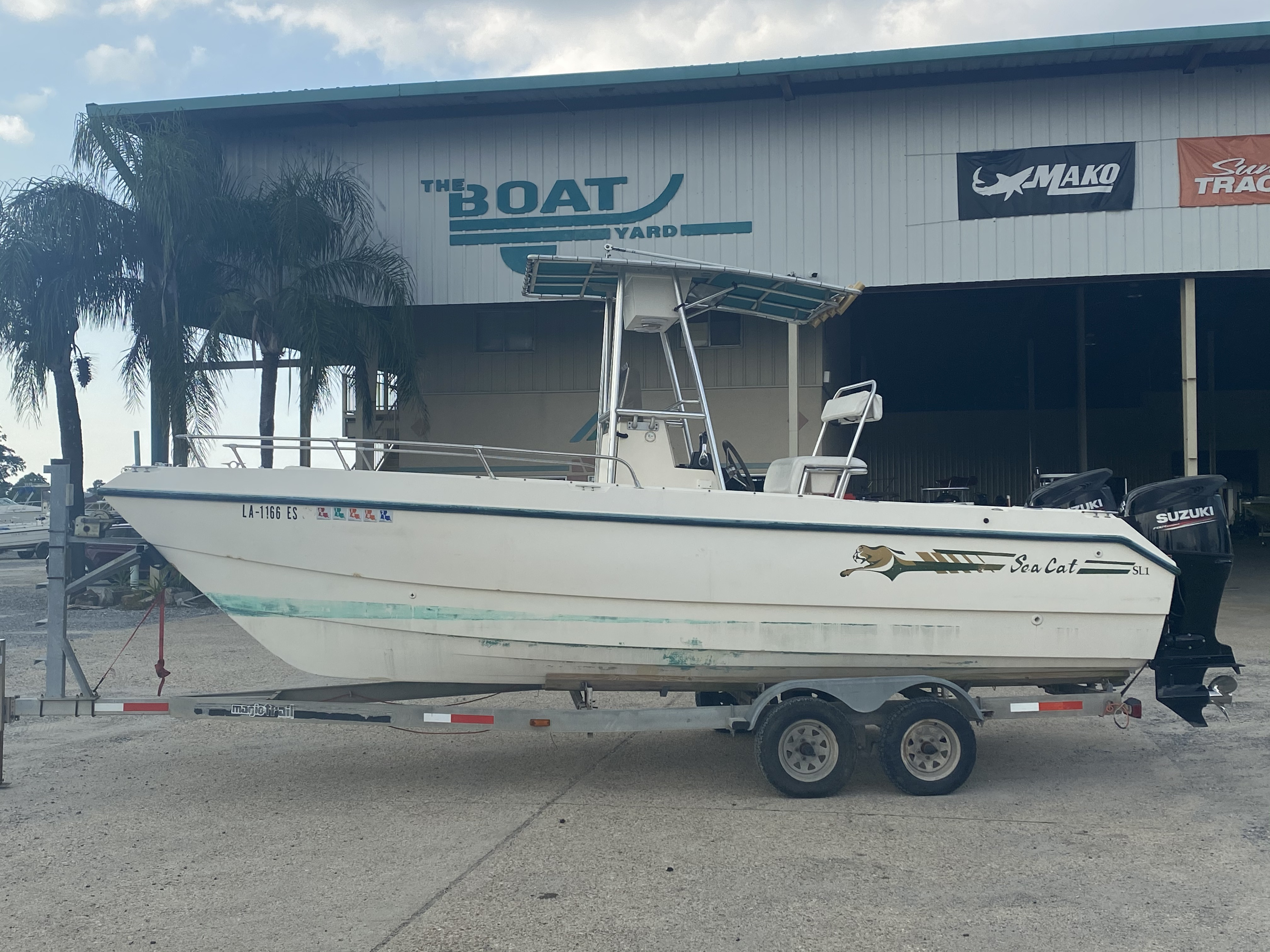 1996 Sea Cat boat for sale, model of the boat is 215 SL1 & Image # 1 of 25
