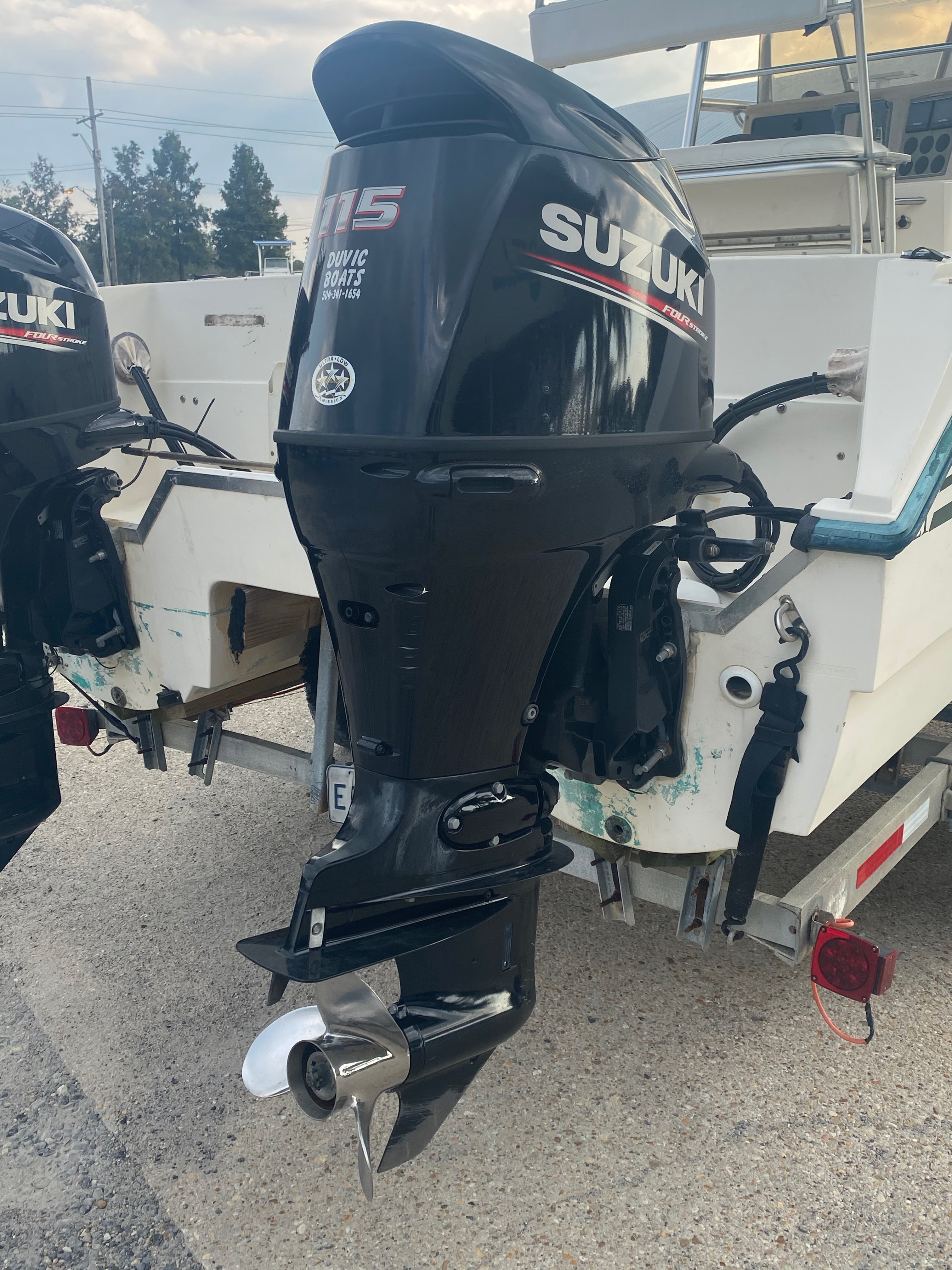 1996 Sea Cat boat for sale, model of the boat is 215 SL1 & Image # 7 of 25
