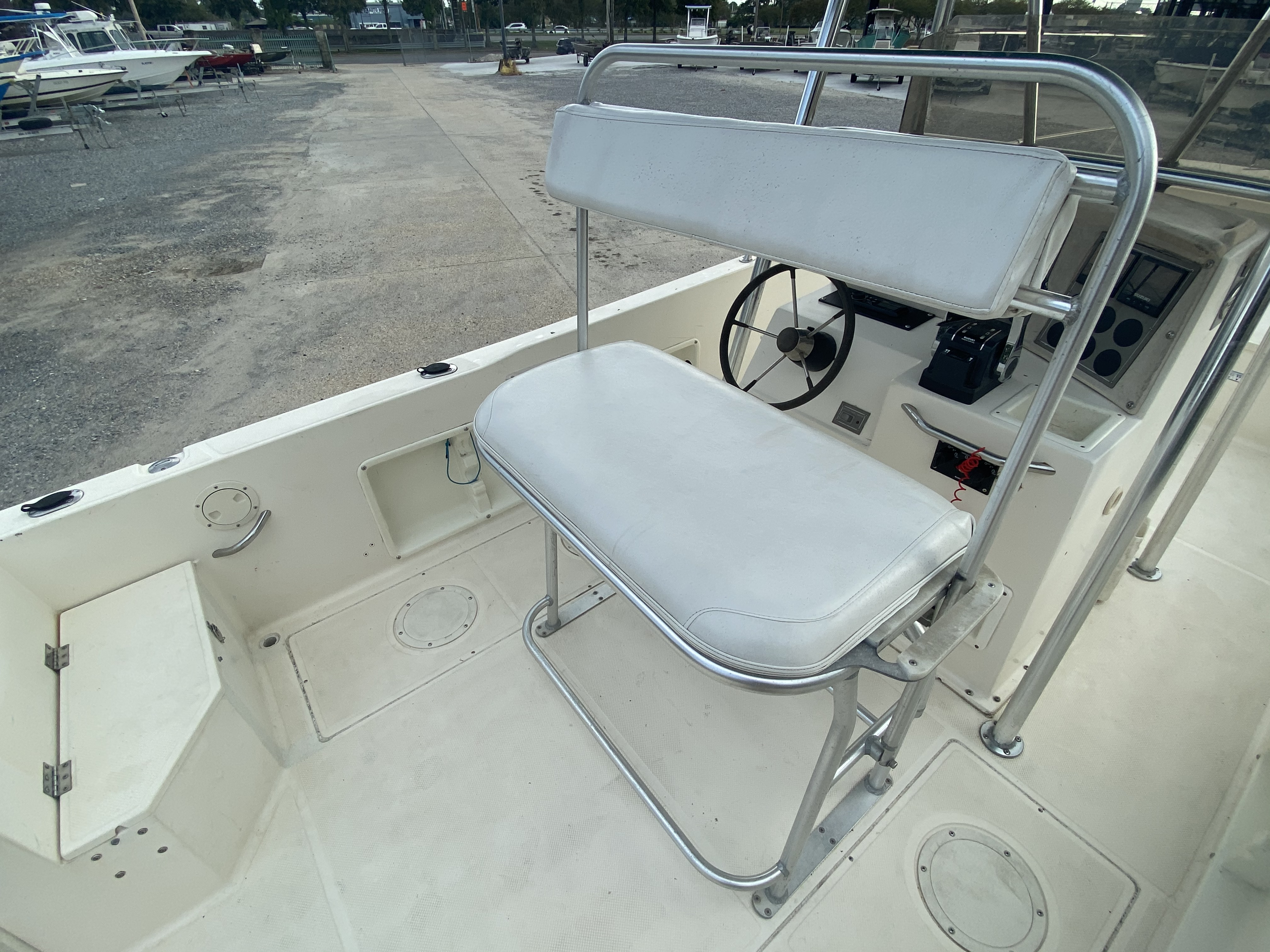 1996 Sea Cat boat for sale, model of the boat is 215 SL1 & Image # 12 of 25