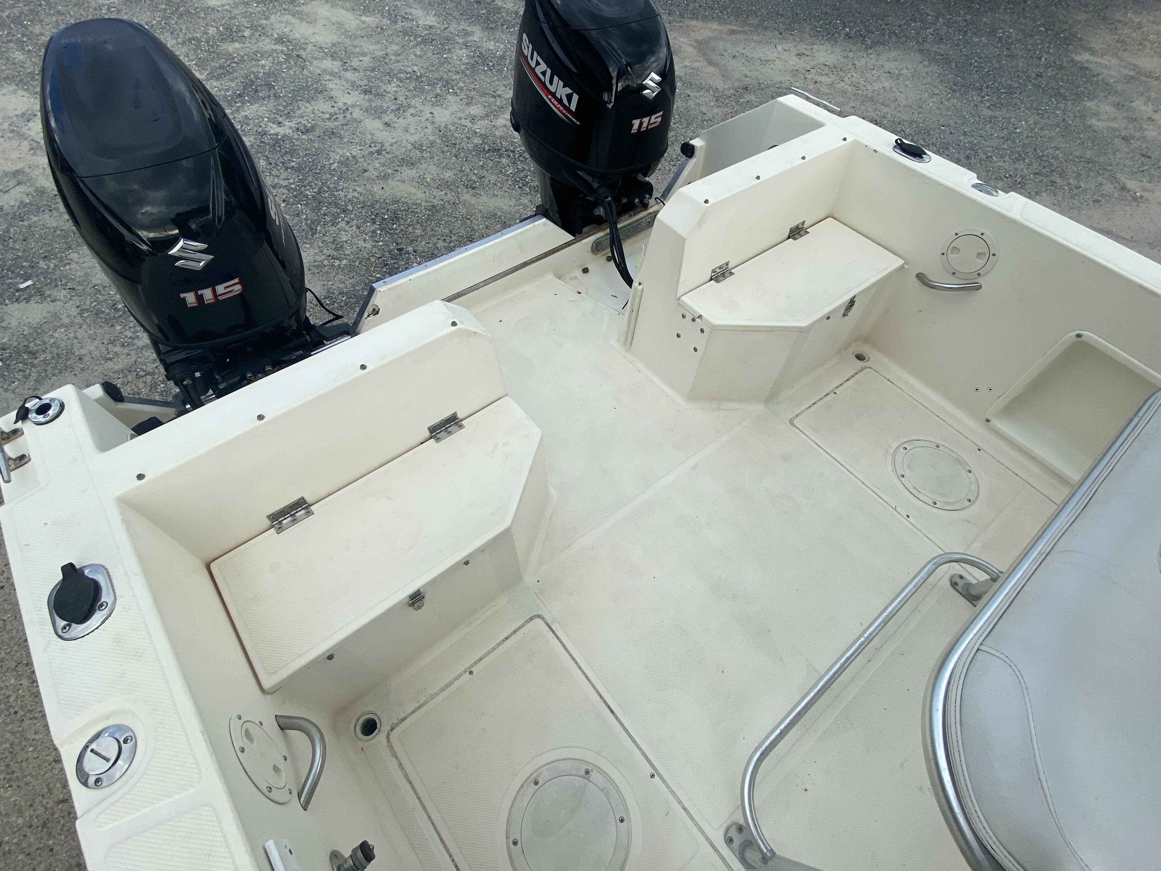 1996 Sea Cat boat for sale, model of the boat is 215 SL1 & Image # 13 of 25