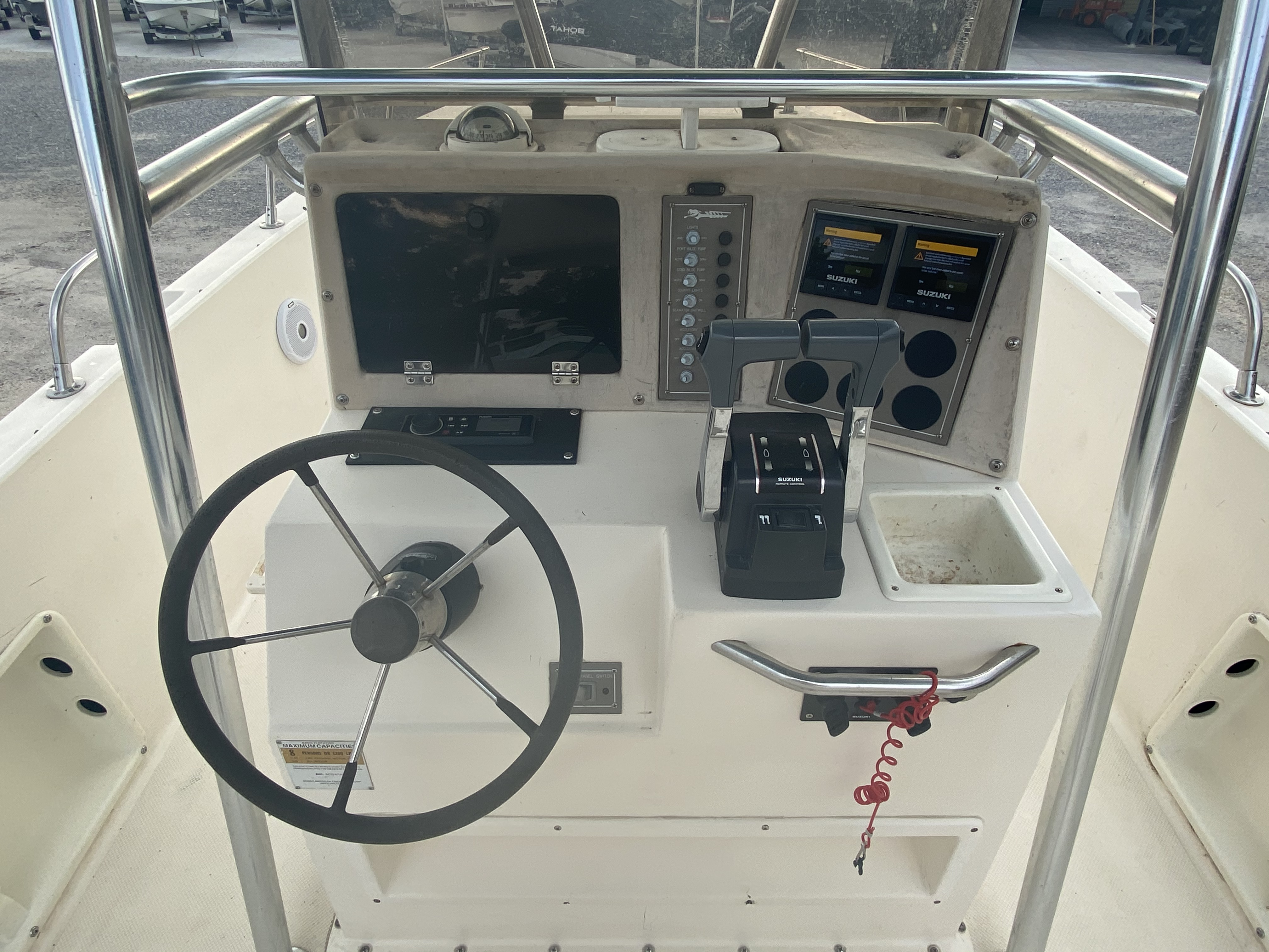 1996 Sea Cat boat for sale, model of the boat is 215 SL1 & Image # 21 of 25