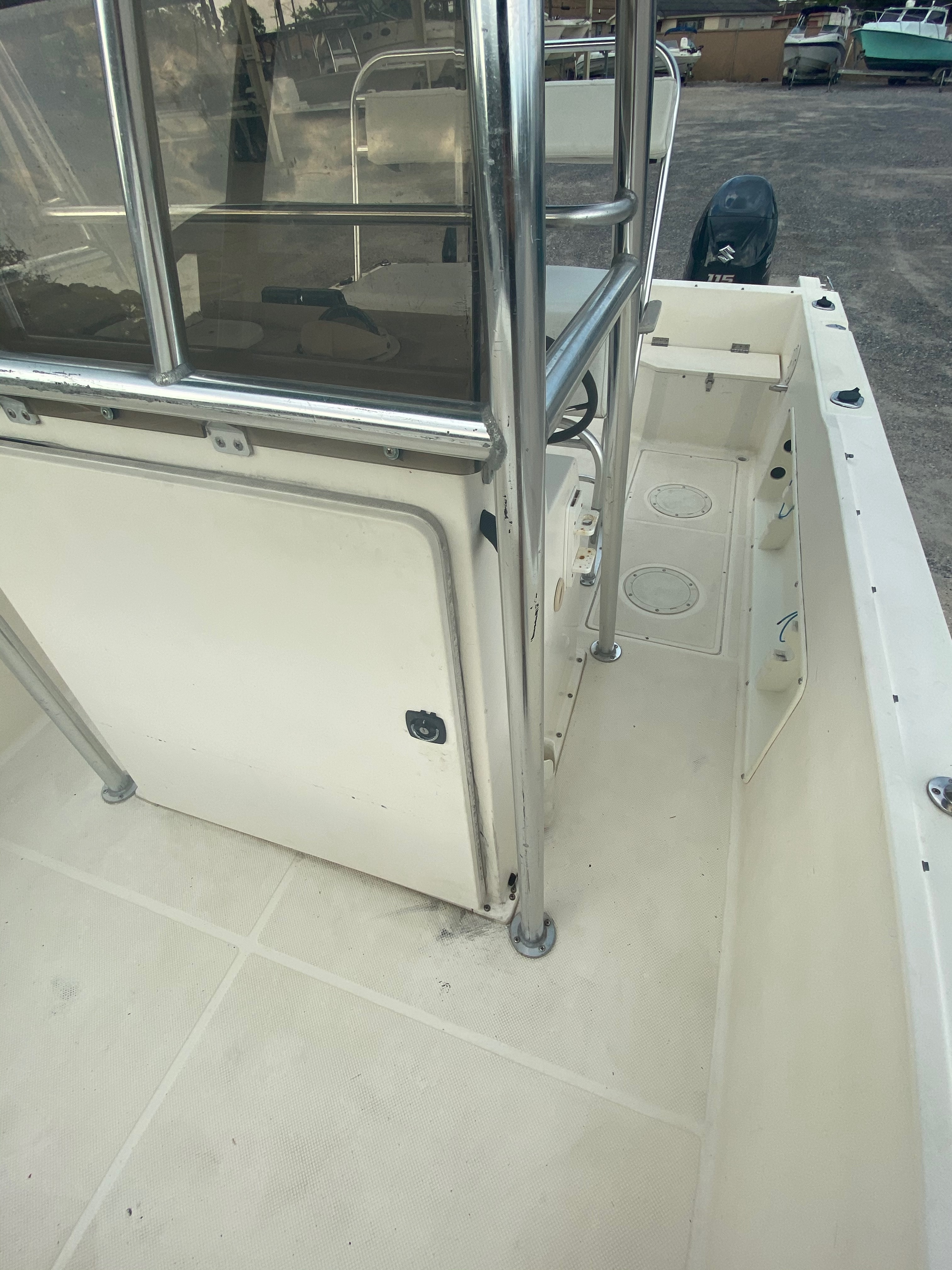 1996 Sea Cat boat for sale, model of the boat is 215 SL1 & Image # 20 of 25
