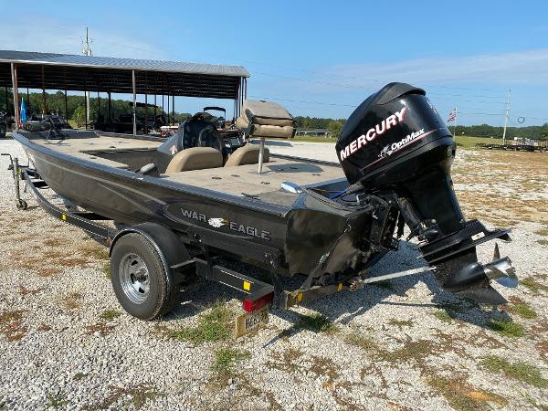 2010 War Eagle boat for sale, model of the boat is 761 Renegade & Image # 3 of 10