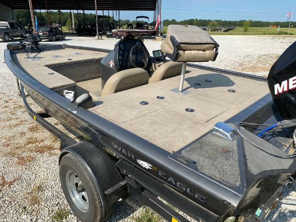 2010 War Eagle boat for sale, model of the boat is 761 Renegade & Image # 5 of 10