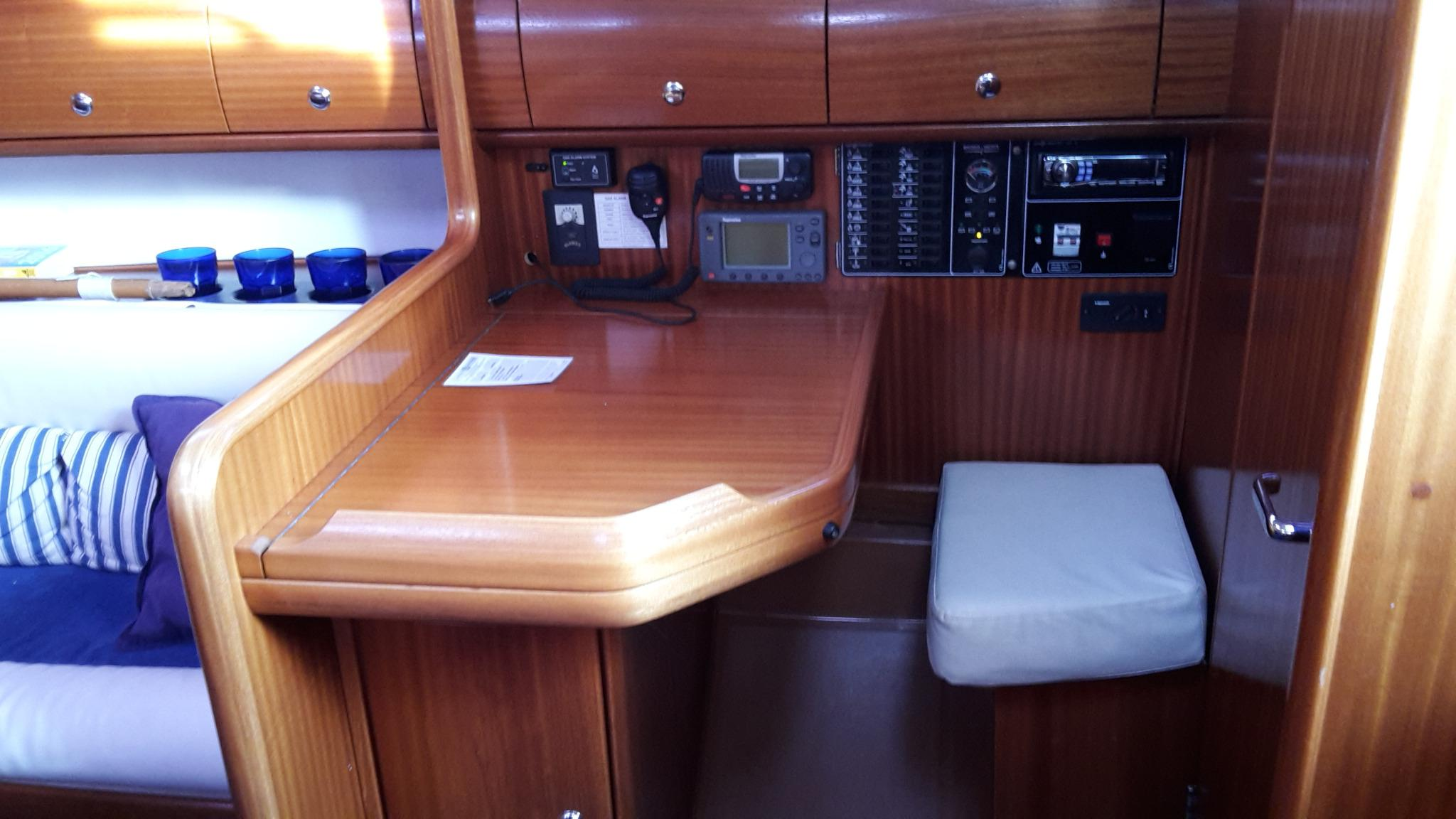 Bavaria 32 chart table