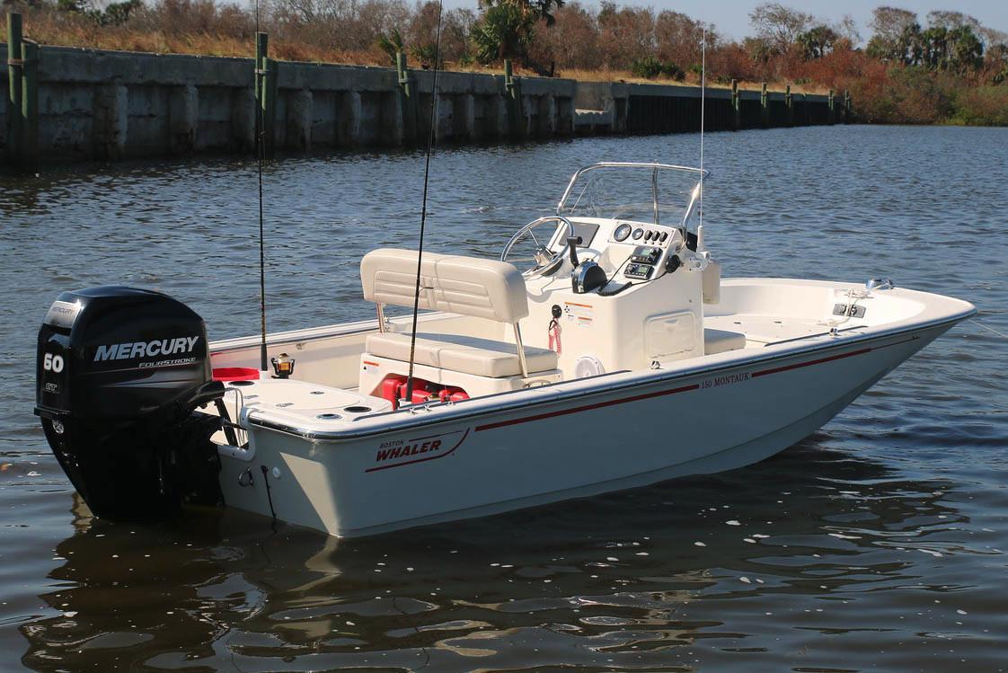 Boston Whaler150 Montauk