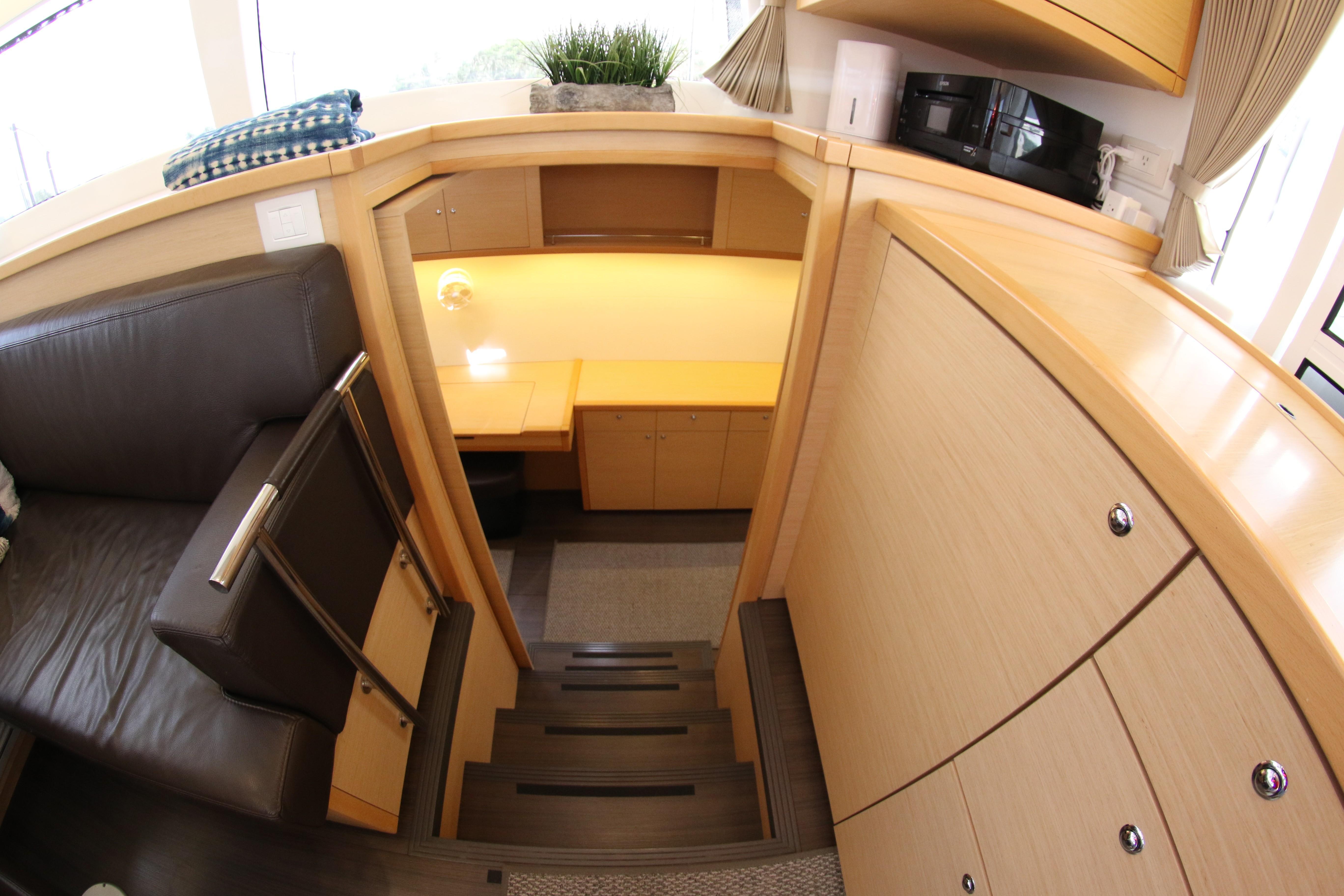 2016 Lagoon 45' Stars Aline - Stairs to Staterooms