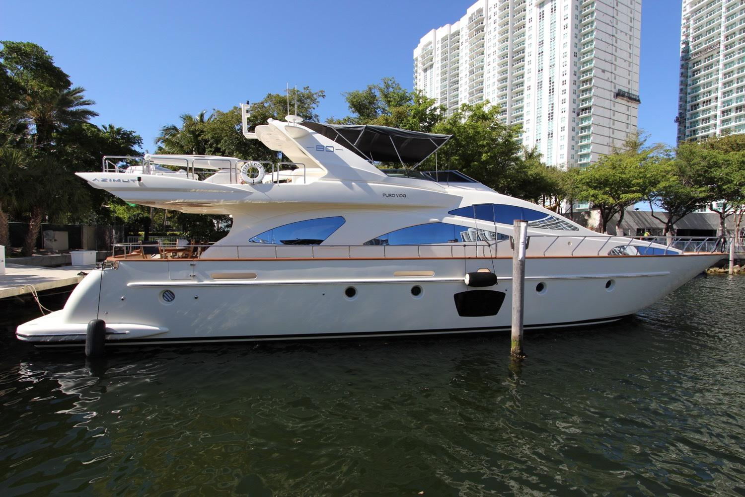 2018 Azimut 80 Flybride for sale in Aventura