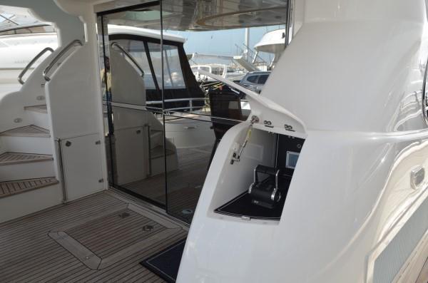 Aft deck controls