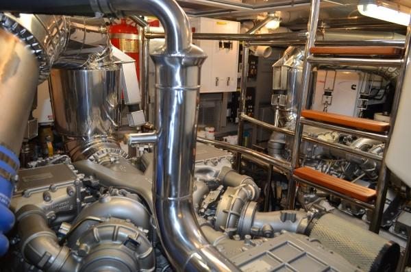 Engine room - facing fwd