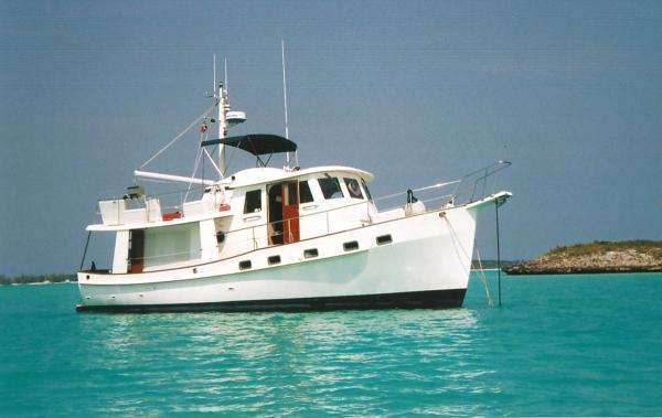 1997 kadey krogen raised pilothouse trawler for sale for Garden design trawler boat