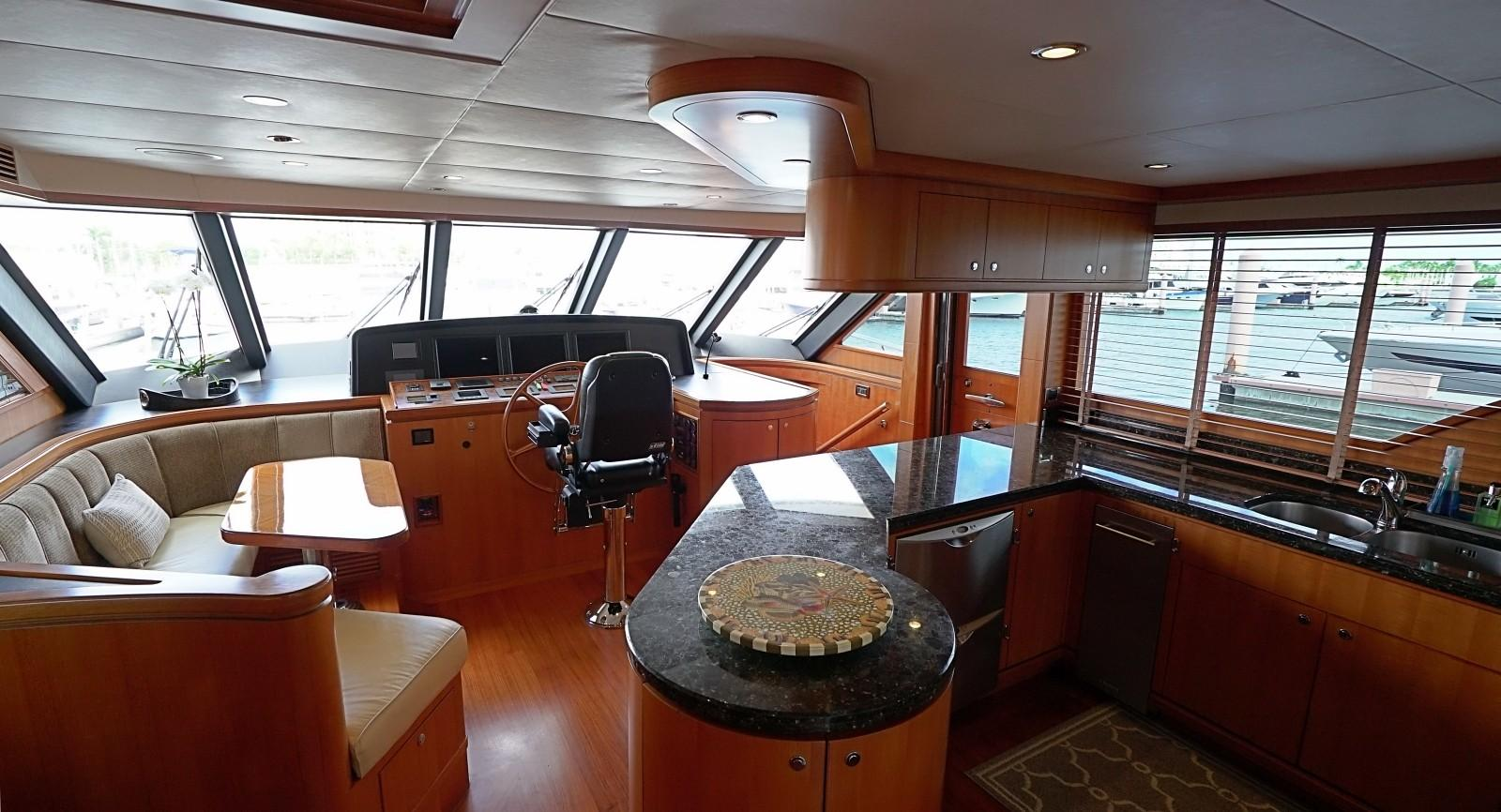 Helm Station with Galley and Dinette