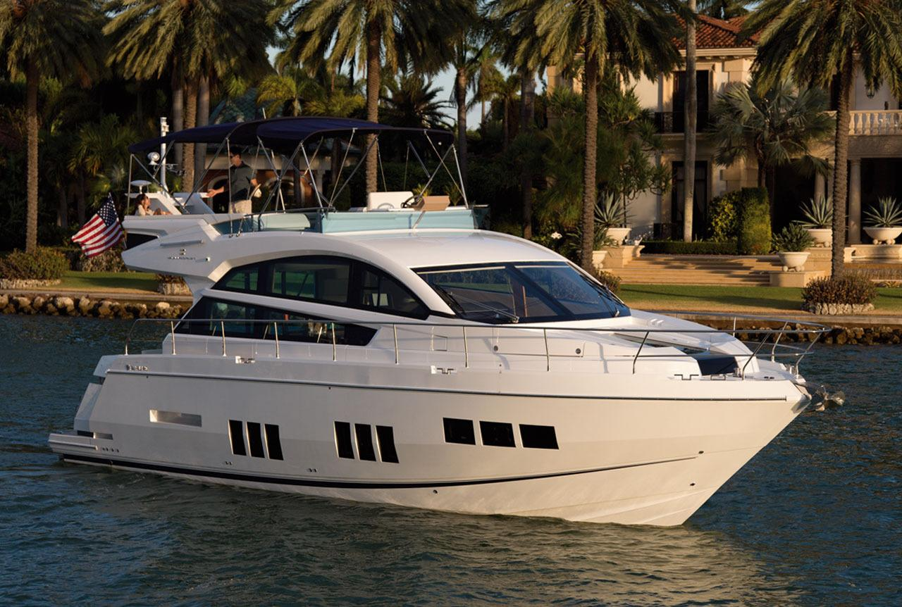 Manufacturer Provided Image: Fairline Squadron 50 Side View