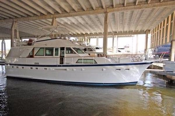 Hatteras 53 Motor Yacht Brokerage New England