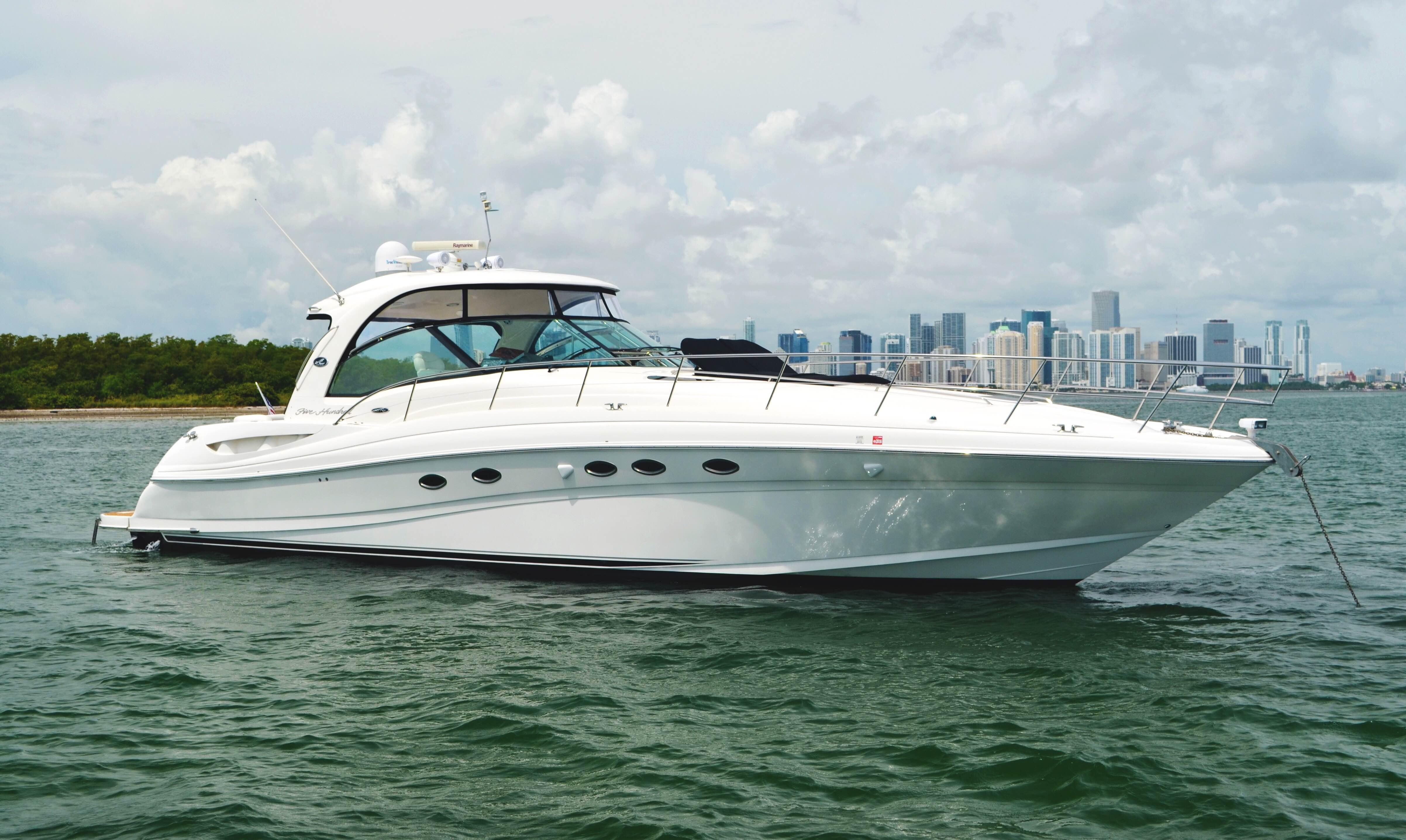 Used sea ray yachts for sale from 41 to 50 feet for 50 ft motor yachts for sale