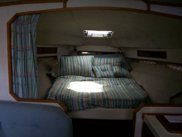 Comfortable V-berth