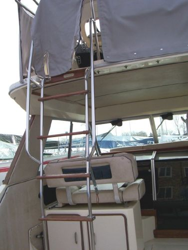 Ladder To Flying Bridge