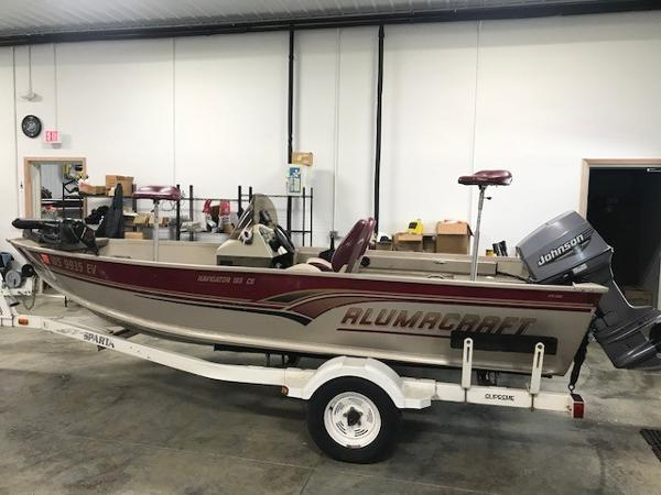 2000 ALUMACRAFT NAVIGATOR 165 CS for sale