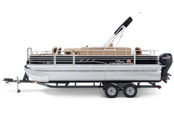 2021 Sun Tracker boat for sale, model of the boat is Fishin' Barge 20 DLX & Image # 5 of 51