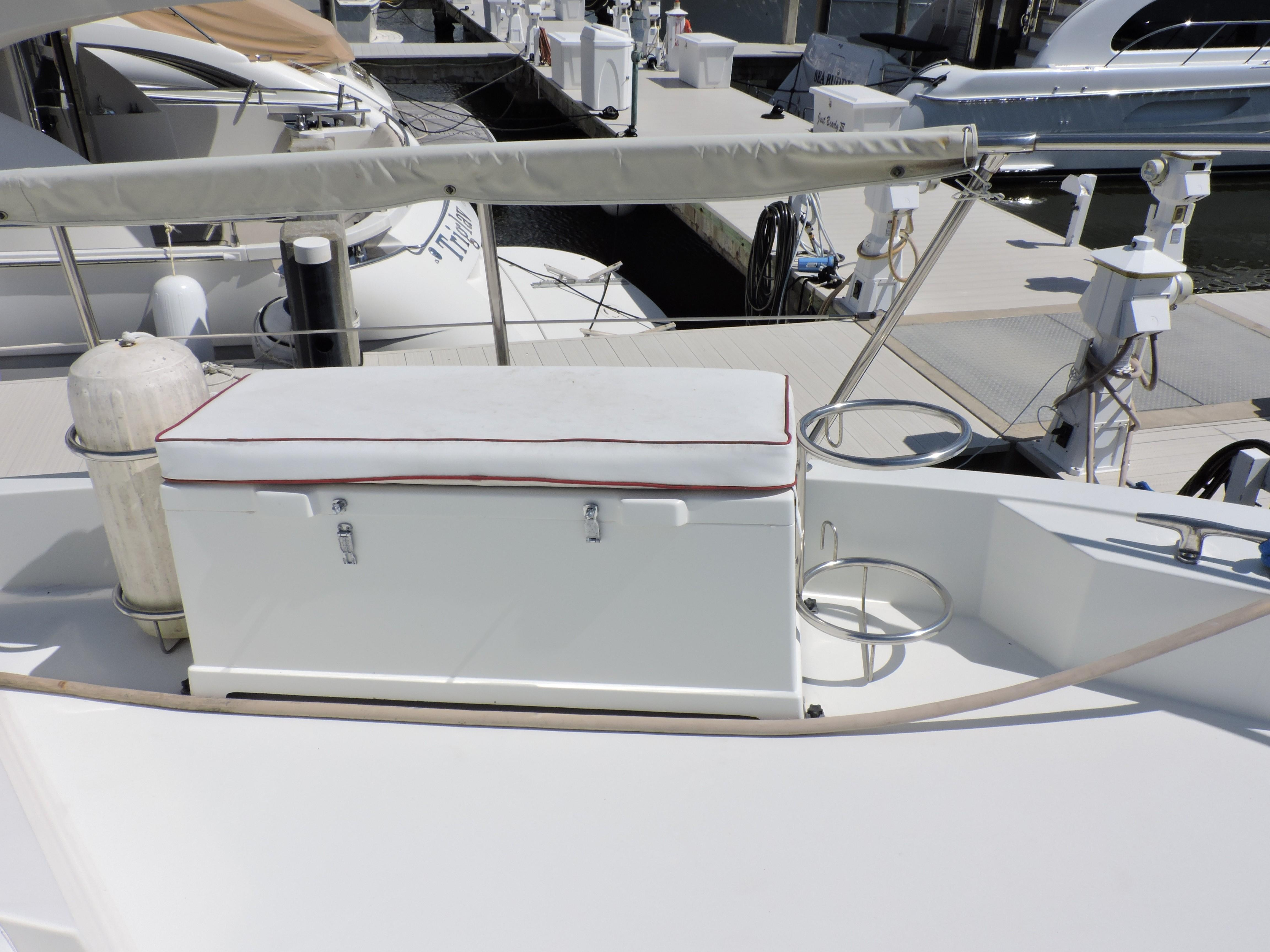 1989 60 Ft Yacht For Sale Allied Marine Cruisair Ac Wiring Diagram Bow Storage