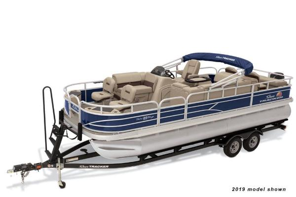 2020 SUN TRACKER FISHIN' BARGE 22 DLX for sale