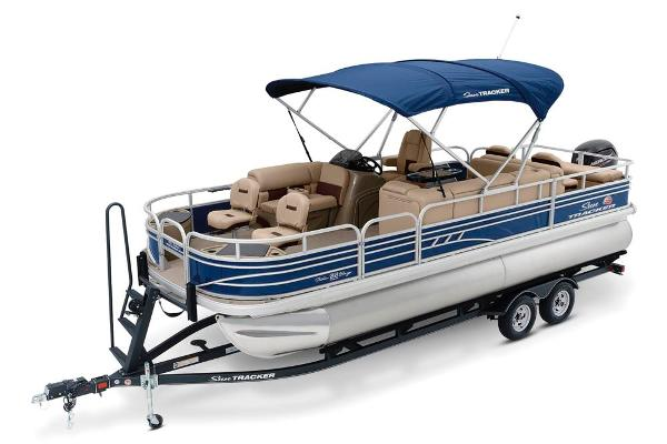 2020 Sun Tracker boat for sale, model of the boat is Fishin' Barge 22 DLX & Image # 7 of 17