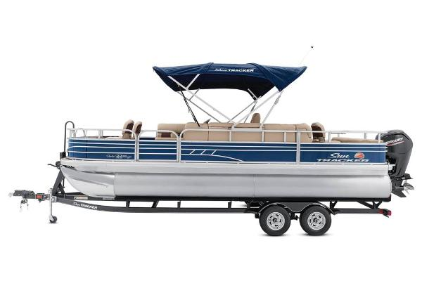 2020 Sun Tracker boat for sale, model of the boat is Fishin' Barge 22 DLX & Image # 8 of 17