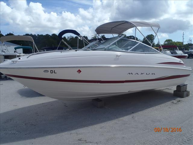 Used 2003 maxum 2100 sc for sale in millsboro delaware for Used boat motors for sale in sc