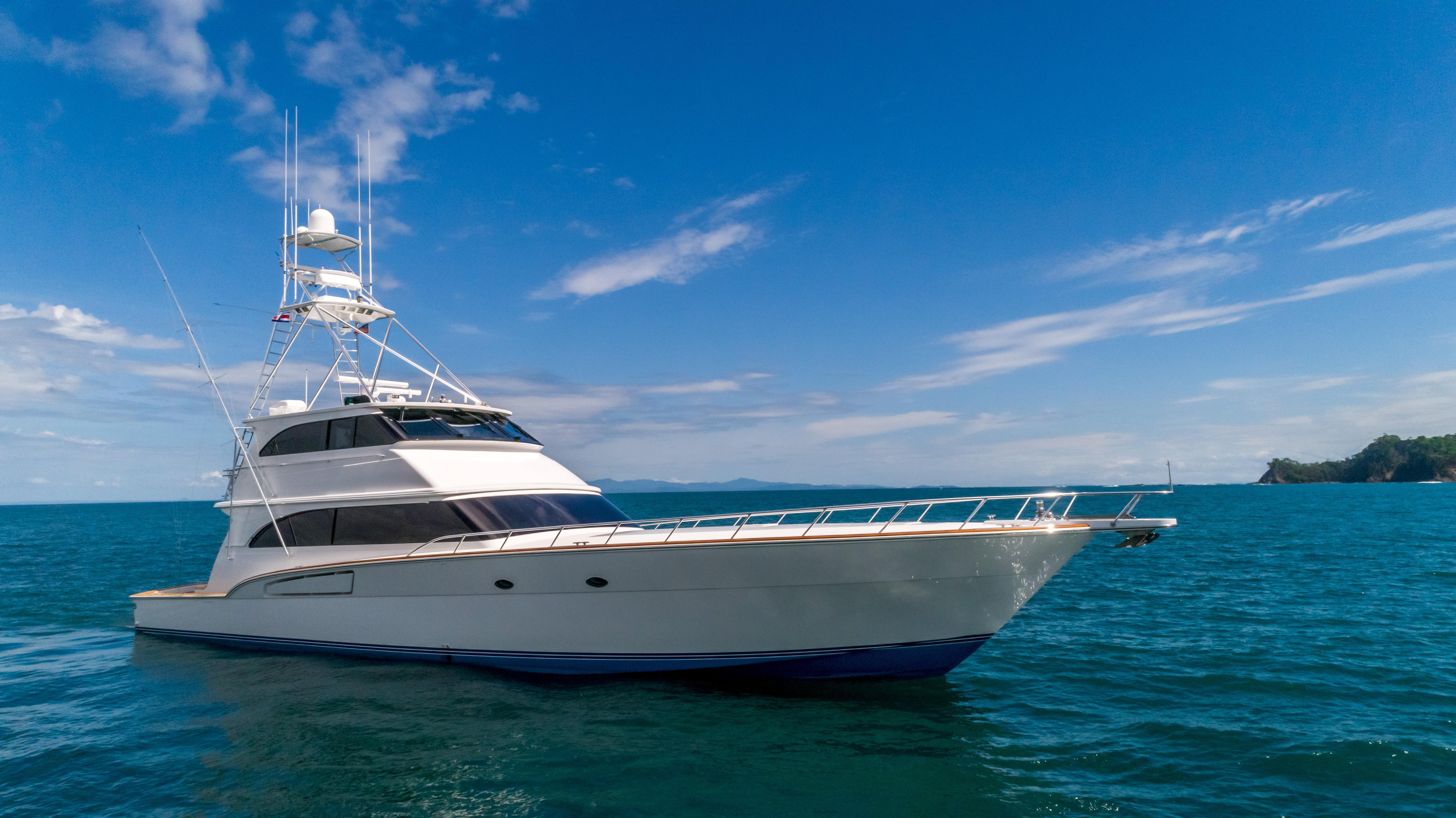 Donzi For Sale >> 80 Donzi Galati Yacht Sales Trade 2001 Los Suenos Playa Herradura Denison Yacht Sales