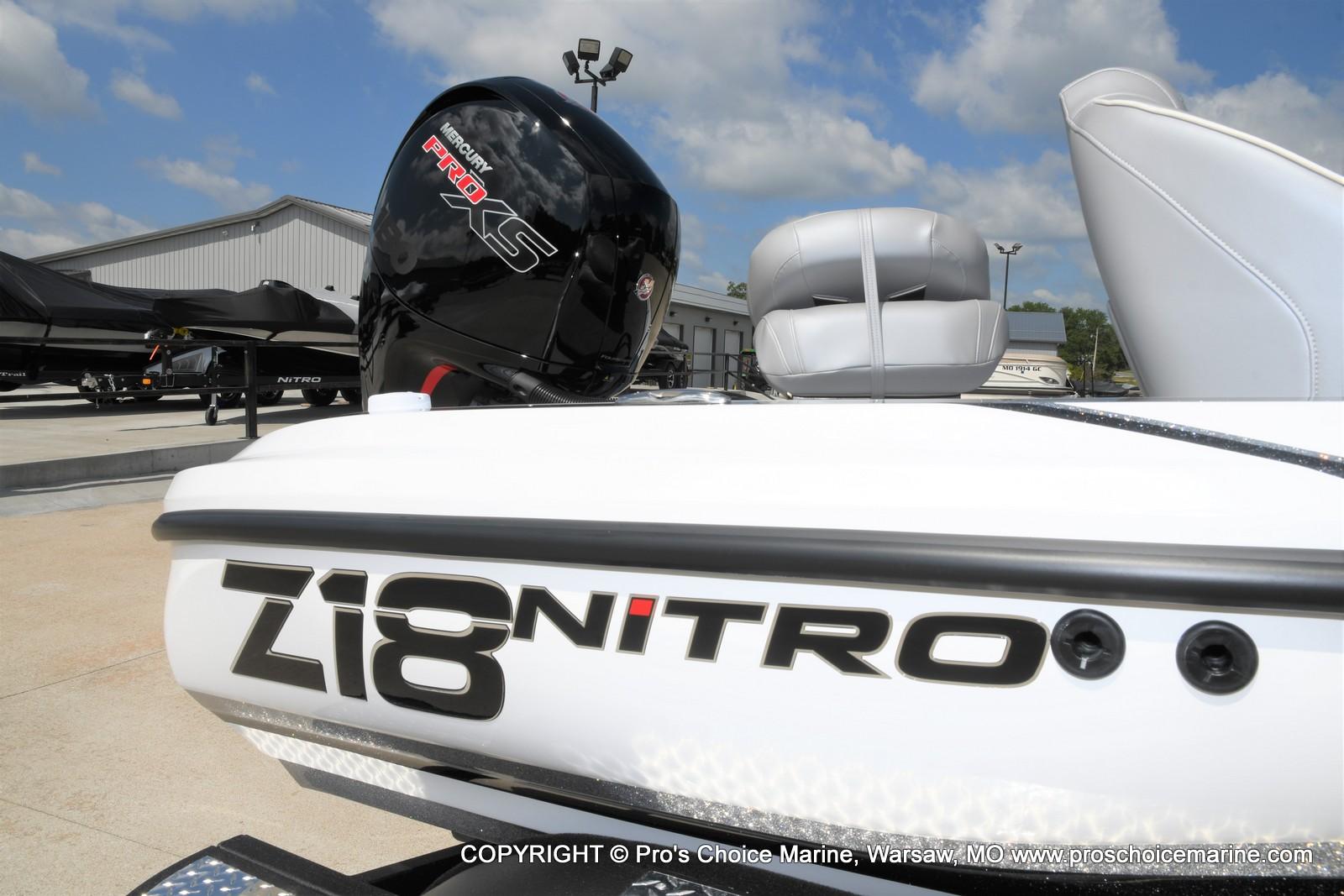 2021 Nitro boat for sale, model of the boat is Z18 & Image # 14 of 50