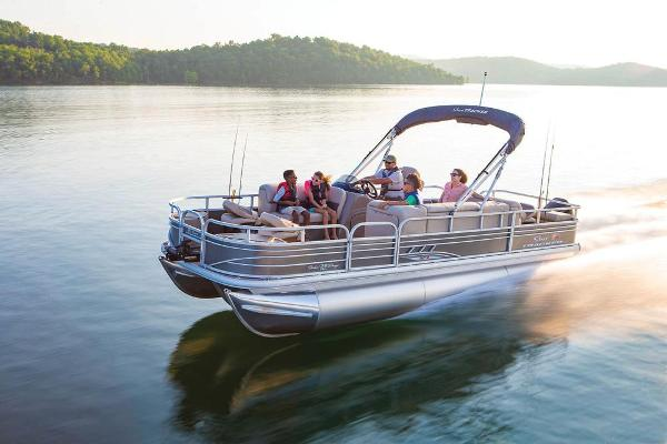 2020 Sun Tracker boat for sale, model of the boat is Fishin' Barge 22 XP3 & Image # 4 of 71