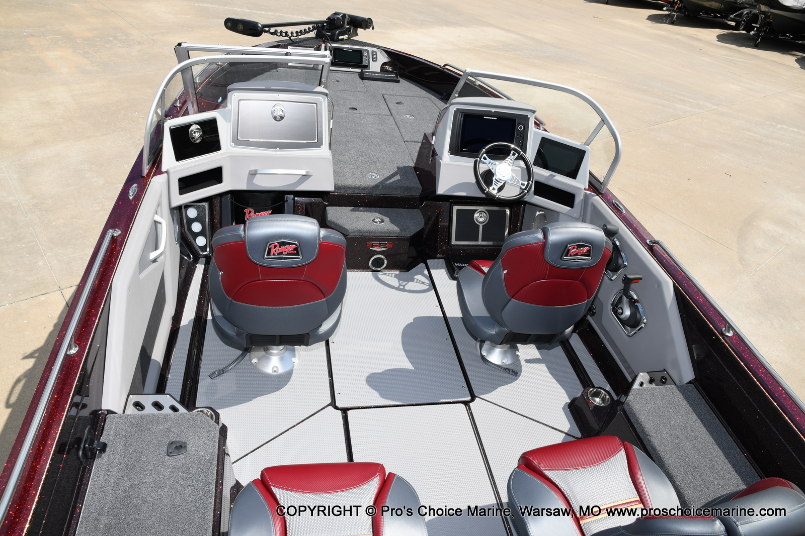 2021 Ranger Boats boat for sale, model of the boat is 621FS PRO w/400HP VERADO & Image # 10 of 50