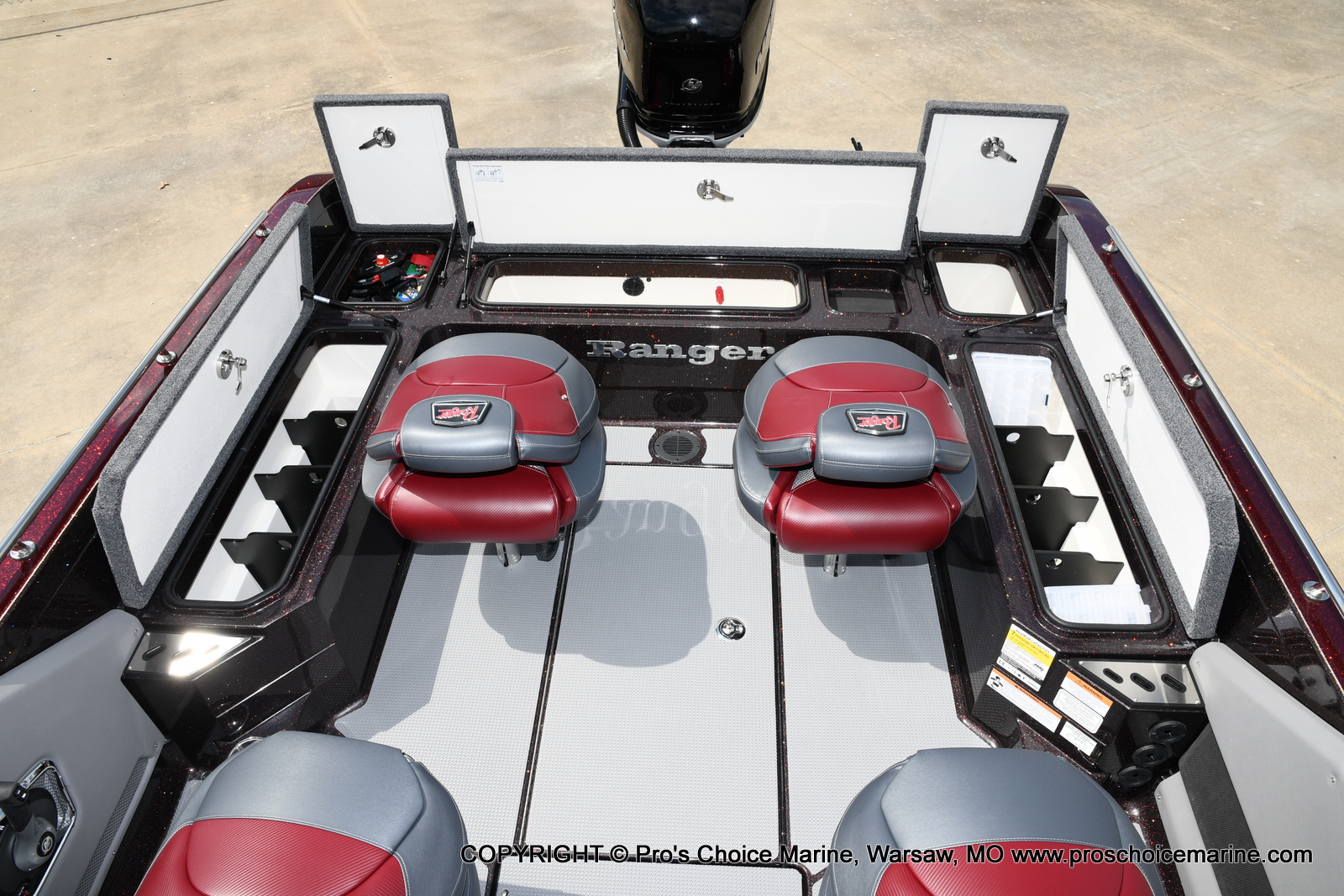 2021 Ranger Boats boat for sale, model of the boat is 621FS PRO w/400HP VERADO & Image # 36 of 50