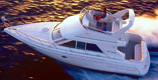 35' Cruisers Yachts 1997 3580 Flybridge