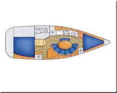 Jeanneau Sun Odyssey 34.2. Built 2000. Spacious cruiser, well maintained, ...
