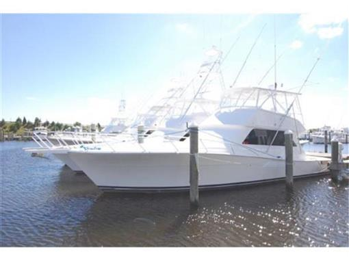 Viking Yacht 50' CONVERTIBLE boat for sale