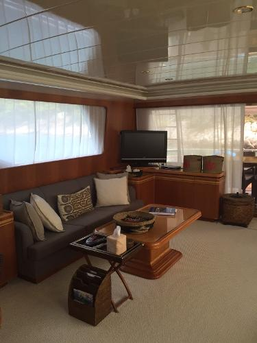 Salon And Cabins' Upholstery Completely Renewed
