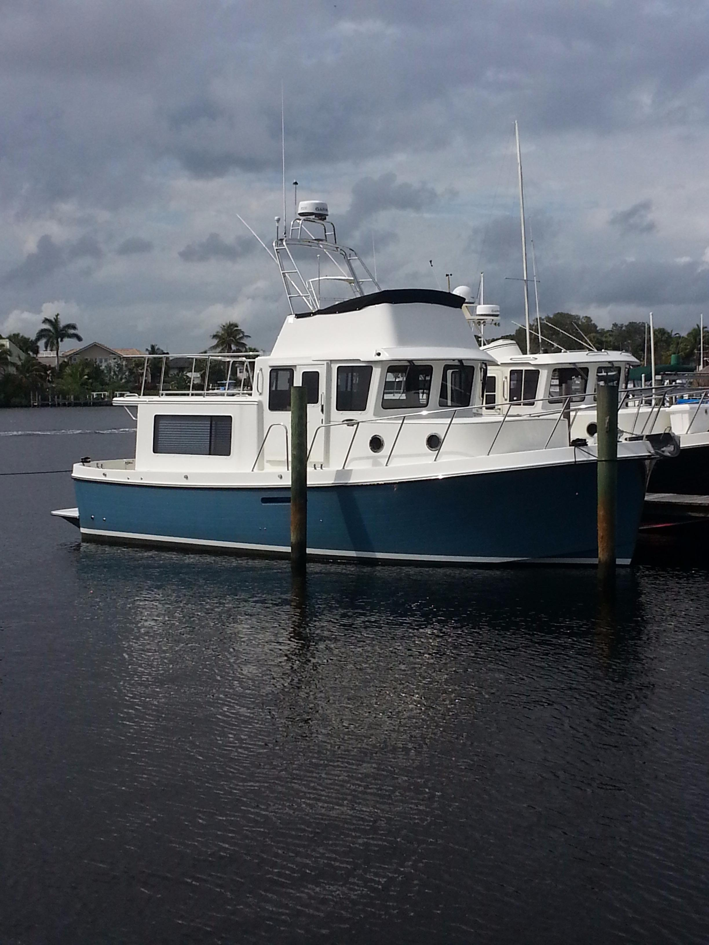 34' American Tug Fly Bridge 2015 365 New Boat In Stock