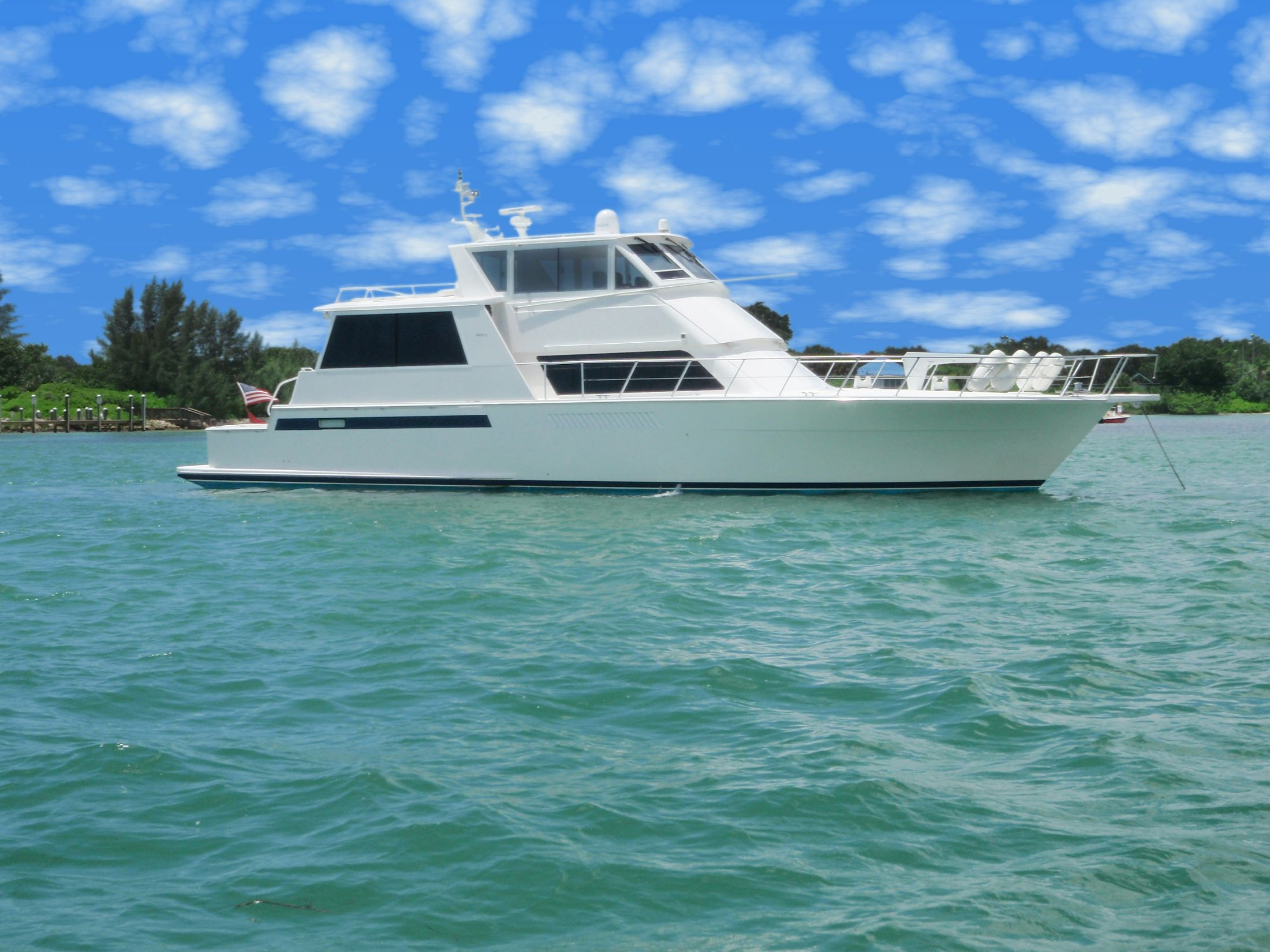 60 Viking Yachts 2000 Golden Eagle Iii For Sale In