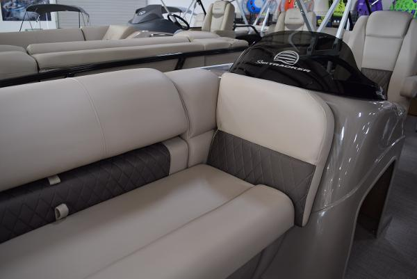 2020 Sun Tracker boat for sale, model of the boat is Party Barge 20 DLX & Image # 44 of 54