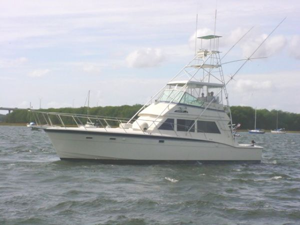 Hatteras Convertible - MUST SEE - Profile