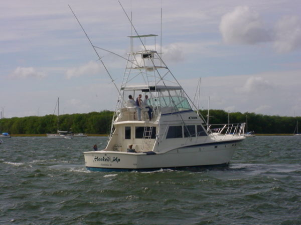 Hatteras Convertible - MUST SEE - Aft Starboard