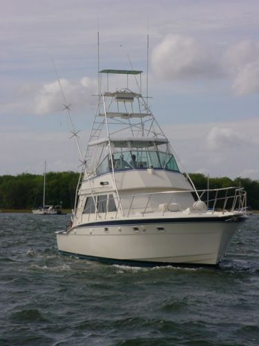 Hatteras Convertible - MUST SEE - Bow Shot