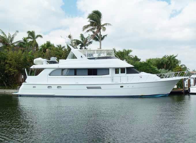 75 ft Hatteras Motoryacht